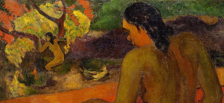 Paul Gauguin, Donna di Tahiti, 1898 olio su tela, cm 72,5 x 93,5 Copenaghen, Ordrupgaard