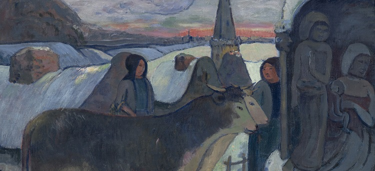 Paul Gauguin, Notte di Natale, 1902-1903  - Indianapolis Museum of Art