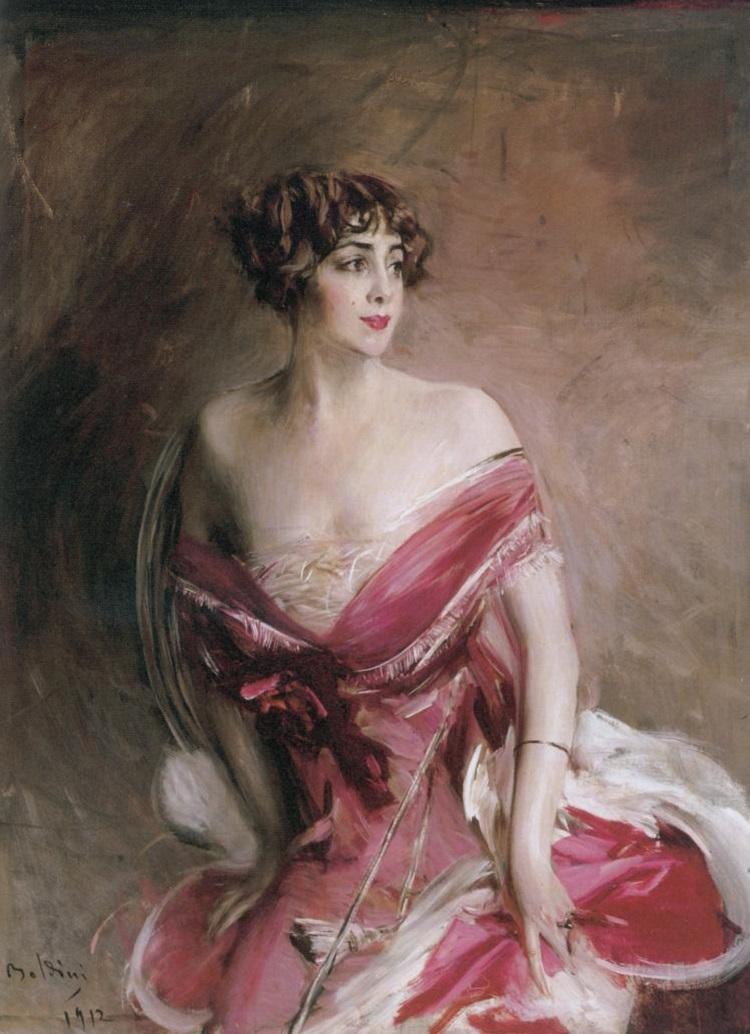 Giovanni Boldini, La dame de Biarritz