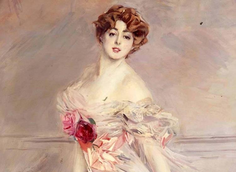 Giovanni Boldini, Ritratto di Marthe Regnier