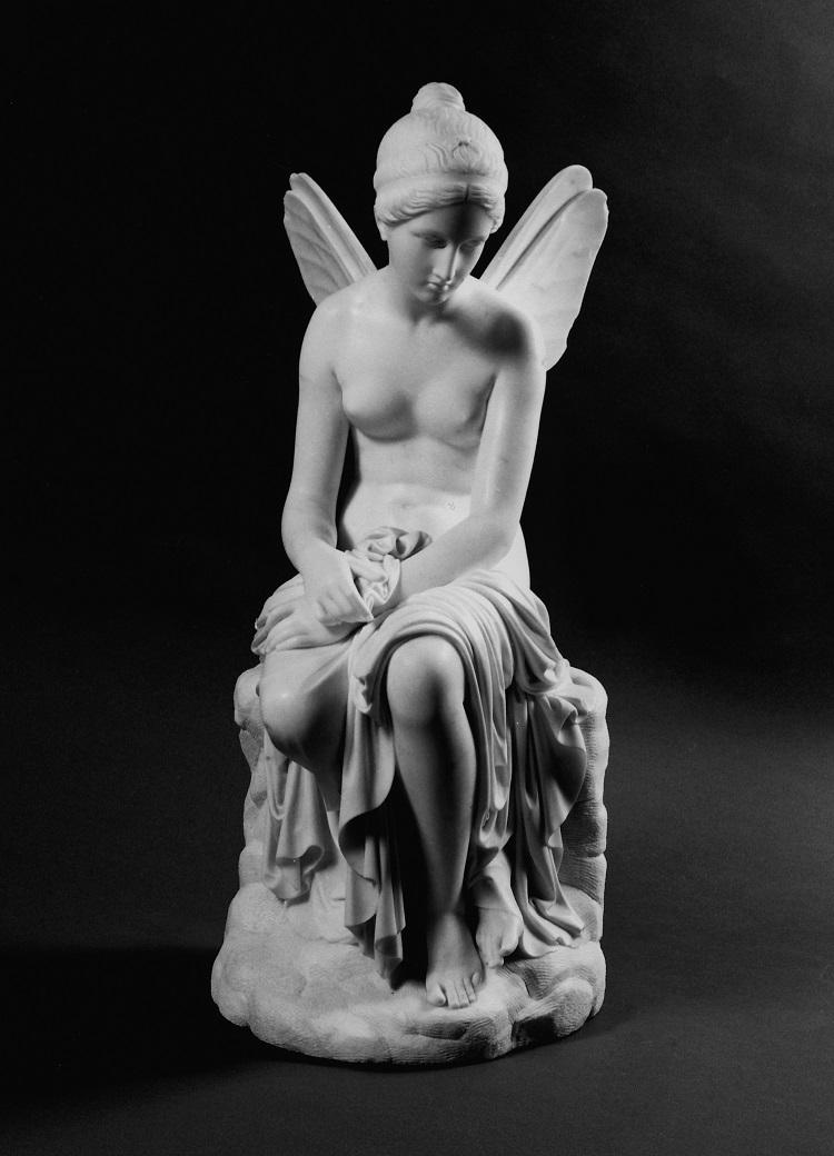 Pietro Tenerani, Psiche abbandonata, 1816–1817,  Firenze, Palazzo Pitti, Galleria nazionale d'arte moderna
