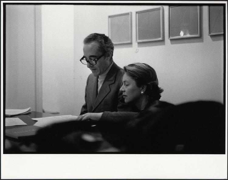 Giuseppe-e-Giovanna-Panza-presso-la-Leo-Castelli-Gallery-di-New-York-1975