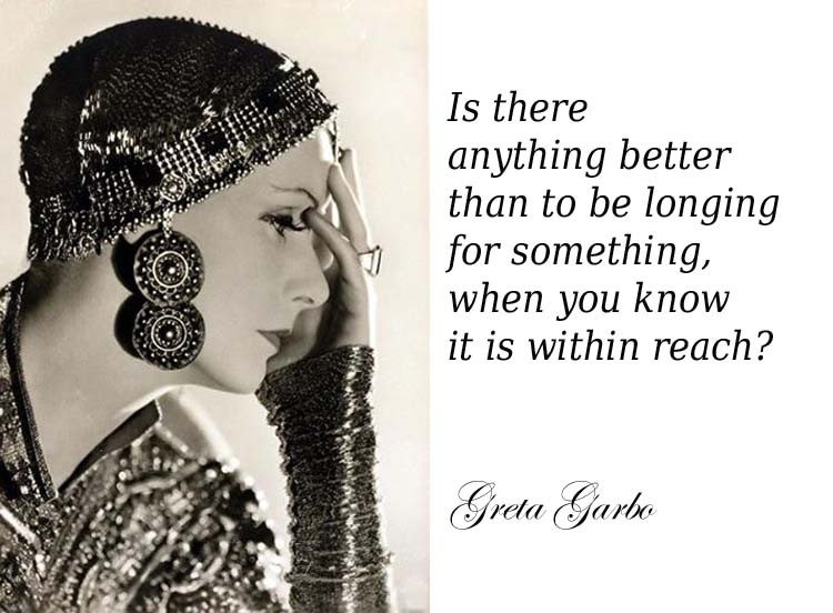 Greta Garbo copia