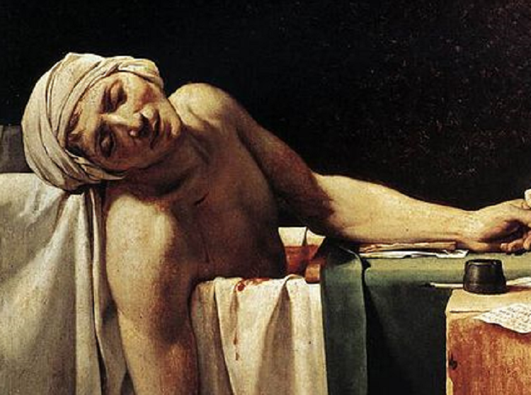 Jacques-Louis David | morte di Marat