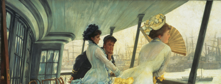 Il ponte dell'HMS Calcutta | James Tissot | mostre Roma
