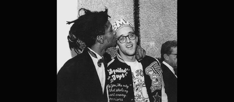 Jean-Michel Basquiat e Haring