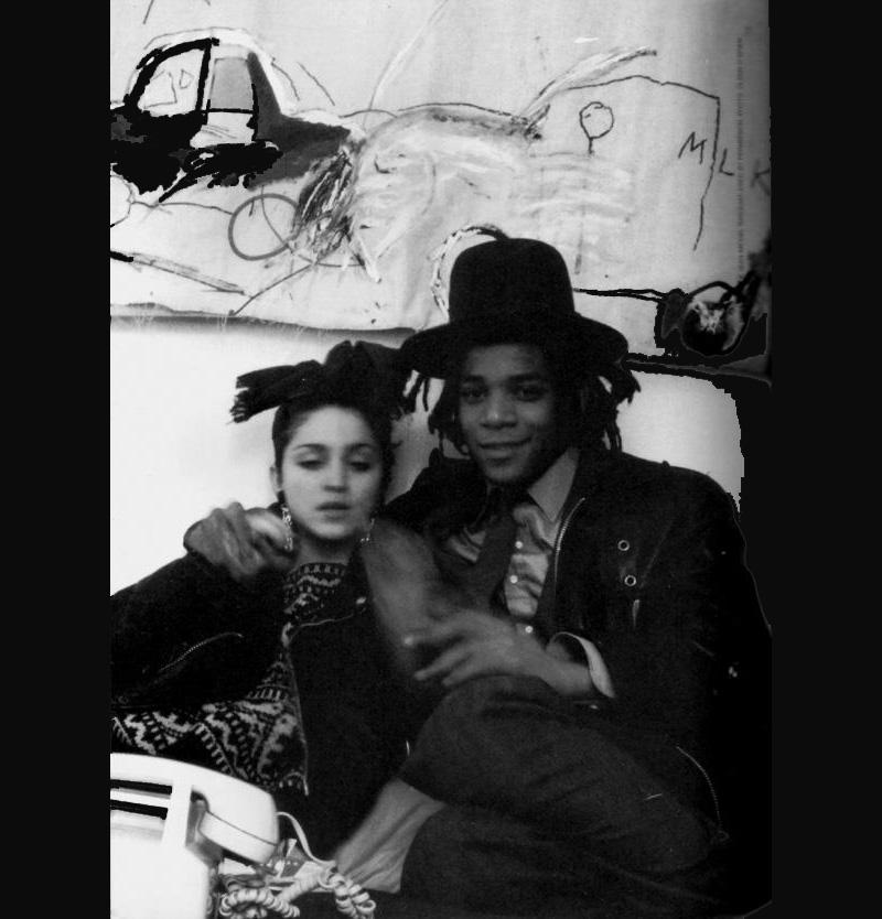 Jean-Michel Basquiat e Madonna