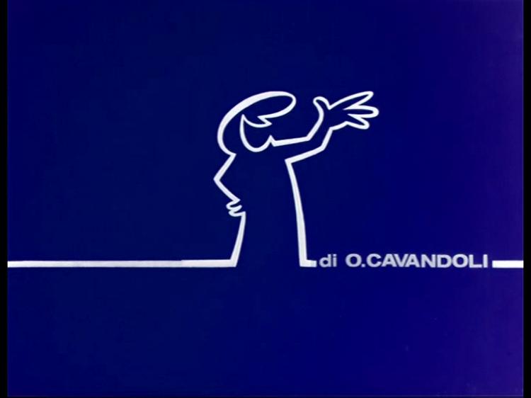 La linea di Osvaldo Cavandoli