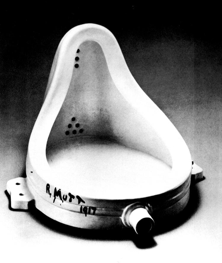 Marcel Duchamp | orinatorio | dada