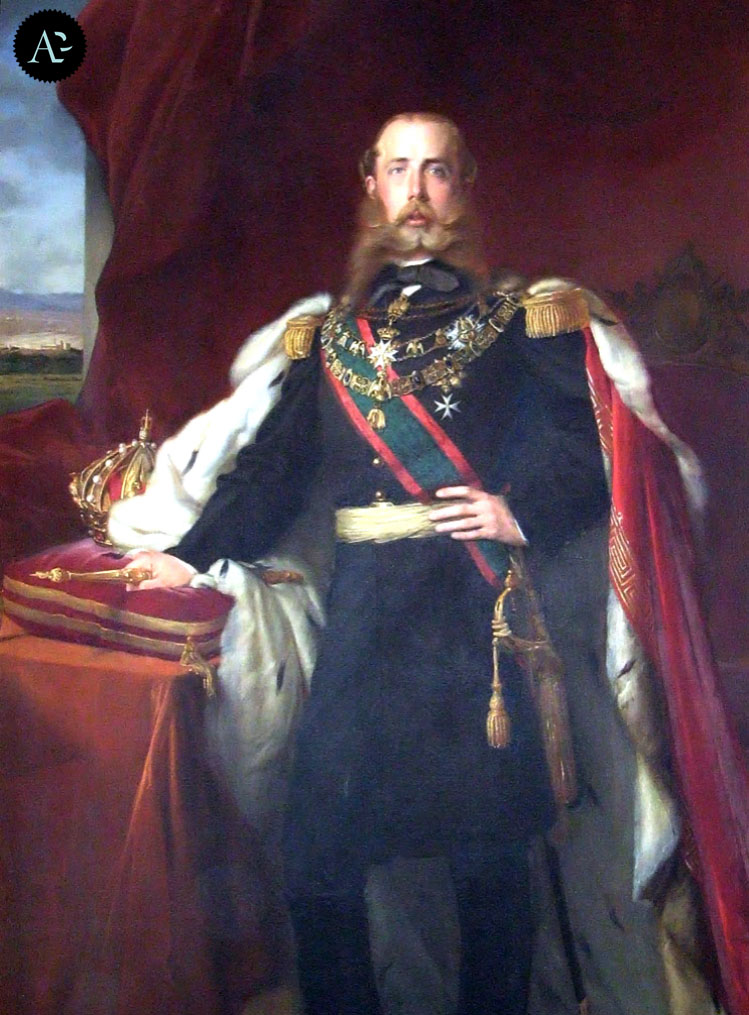 """Franz Xaver Winterhalter """"Massimiliano Imperatore del Messico"""". Castello di Miramare, Trieste."""