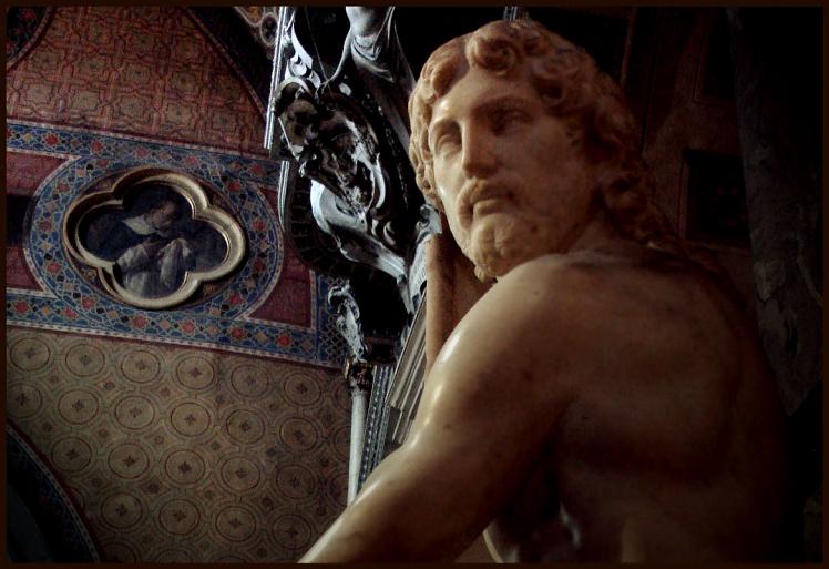 Cristo Risorto o Cristo della Minerva, Michelangelo Buonarroti (1519-1520 circa) - Basilica di Santa Maria sopra Minerva, Roma