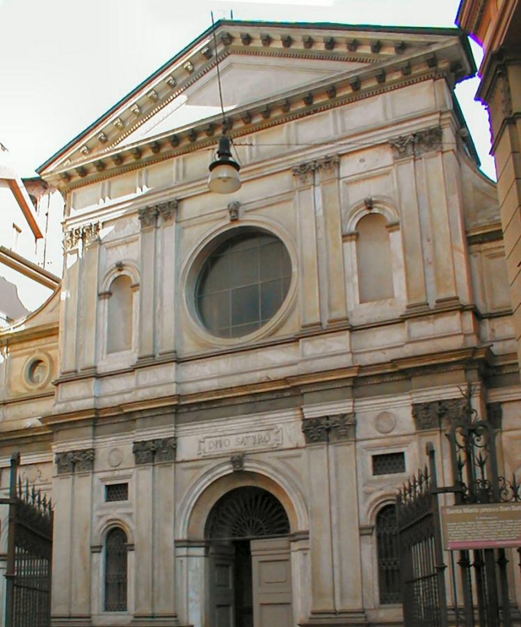 chiesa di Santa Maria presso San Satiro | Bramante | milano