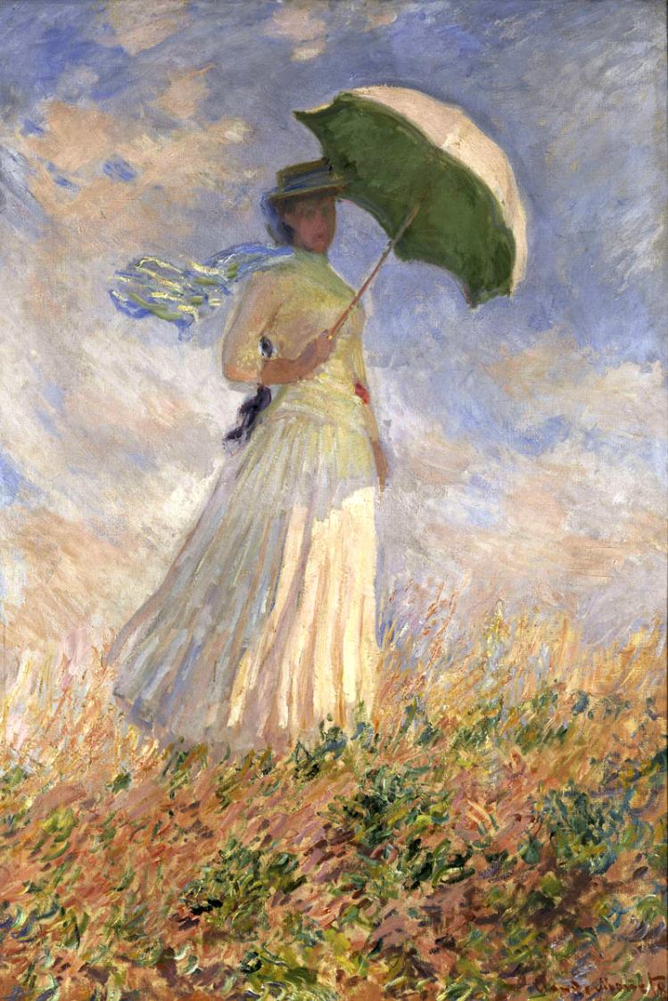 donna con parasole | Monet | mostre a Torino