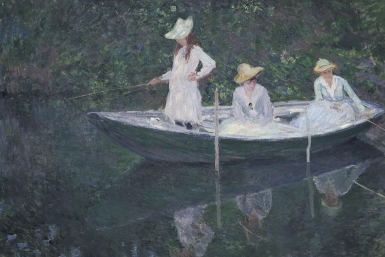 La barca a Giverny | Monet | mostre a Torino