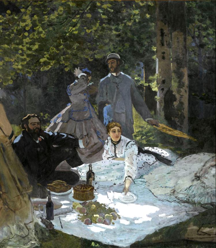 Colazione sull'erba | Monet | mostre a Torino