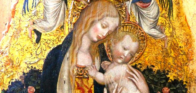Pisanello | Madonna della quaglia | Museo Castelvecchio Verona