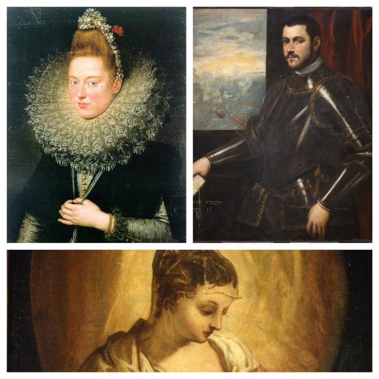 Dama delle linciai | Ritratto di ammiraglio veneziano | Madonna allattante| Museo Castelvecchio Verona