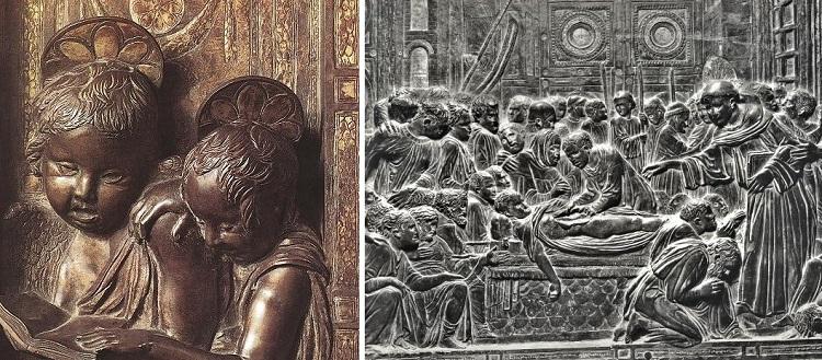 Musician Angels 1447-1450. Basilica of Saint Anthony. Padova, Italy