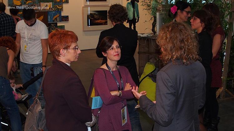 Atmosfera rilassata e conviviale allo stand di MyHome Gallery ... sembra di stare tra amici di lunga data!
