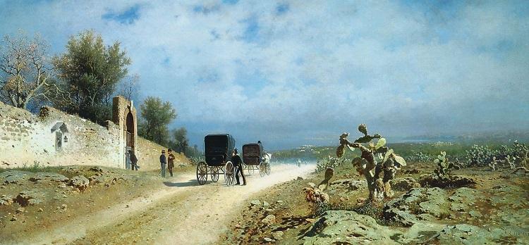 Paesaggi e pittori siciliani  1