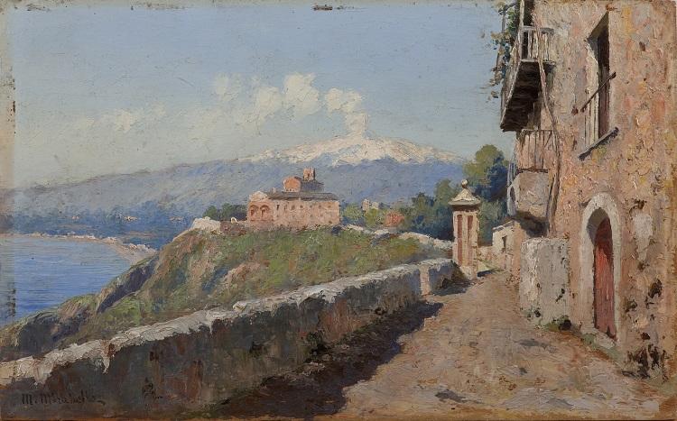 Paesaggi e pittori siciliani dell'Ottocento 1