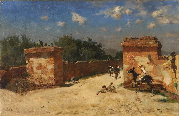 Paesaggi e pittori siciliani dell'Ottocento 3