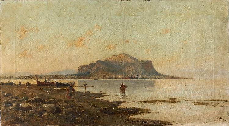 Paesaggi e pittori siciliani dell'Ottocento 4