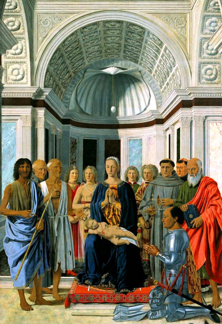 Brera Madonna | Piero della Francesca | Pinacoteca di Brera