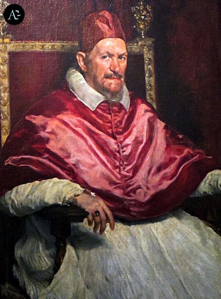 Diego Velázquez | Papa Innocenzo X | Galleria Doria Pamphilj | musei Roma