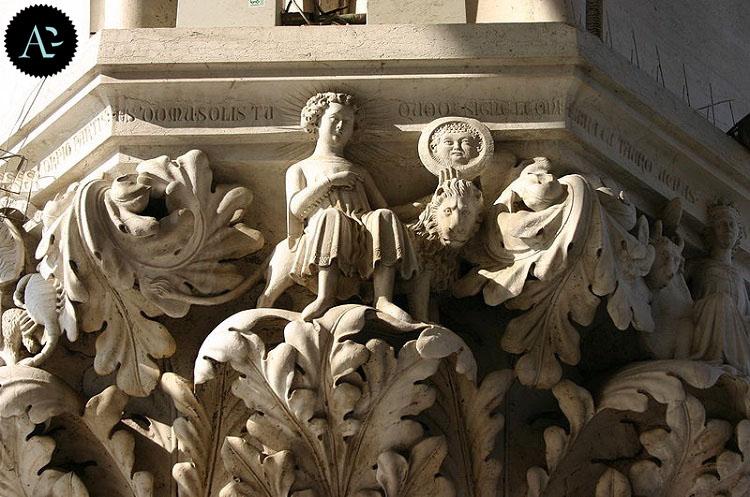 Palazzo Ducale Venezia | capitello