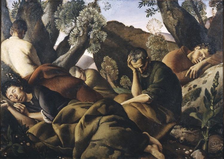 Felice Carena (Cumiana 1879-Venezia 1966) Gli Apostoli  1926