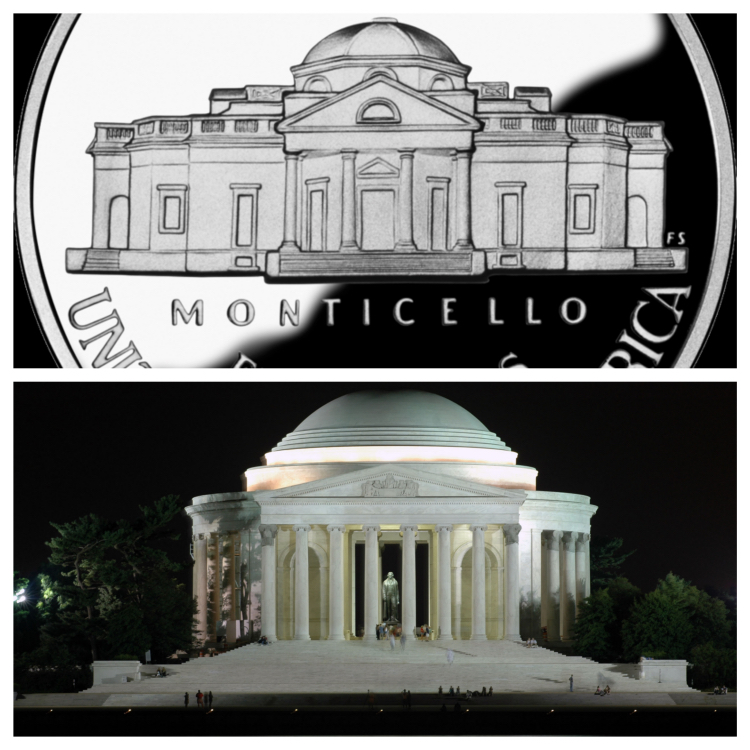 Pantheon | Jefferson Memorial | dollaro americano