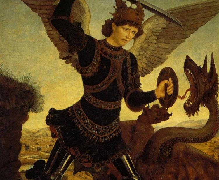 Piero del Pollaiolo San Michele Arcangelo e il drago