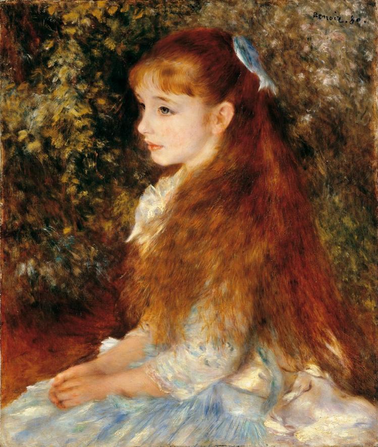Renoir   La piccola Irene   mostre Treviso