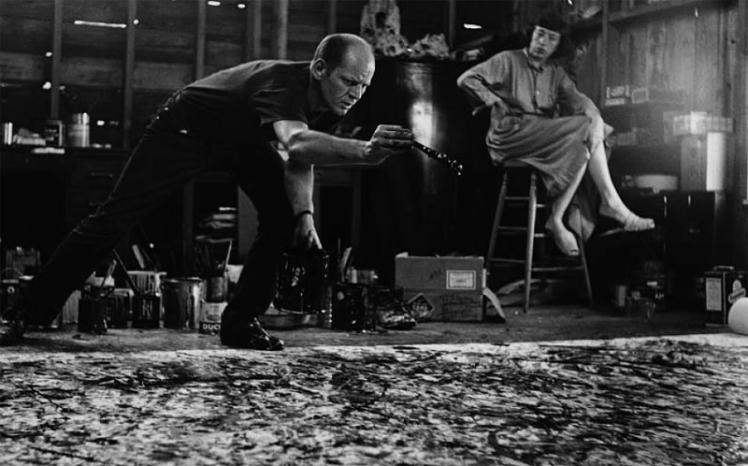 Pollock e Lee Krasner