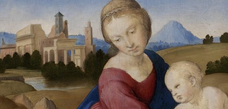 "Madonna and Child with the Infant Saint John ""The Eszterhazy Mad"