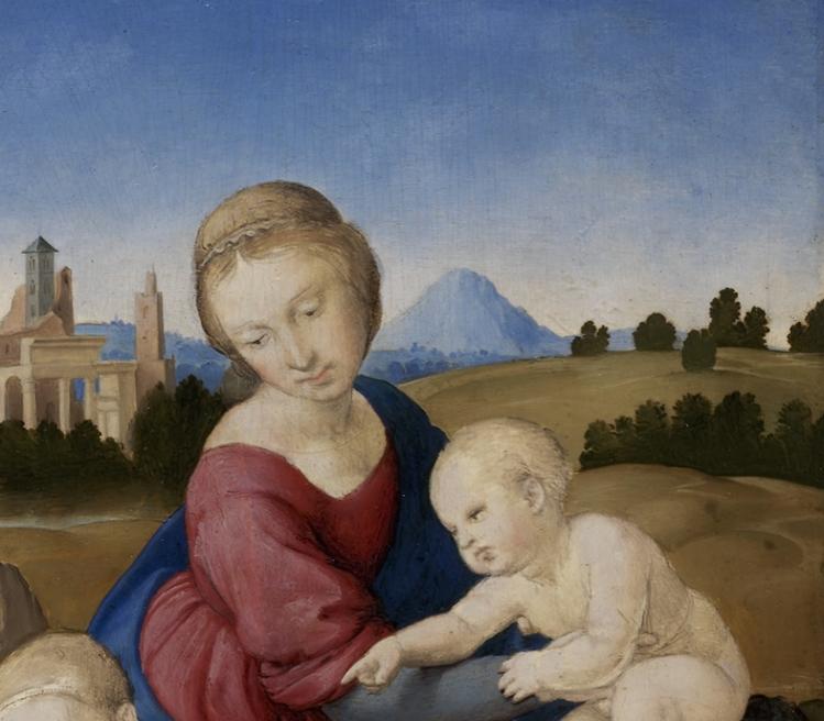 """Raffaello """"Madonna Esterhazy"""" (1508)"""
