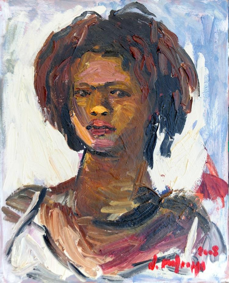 Ragazza di colore - 2008 - 40x50