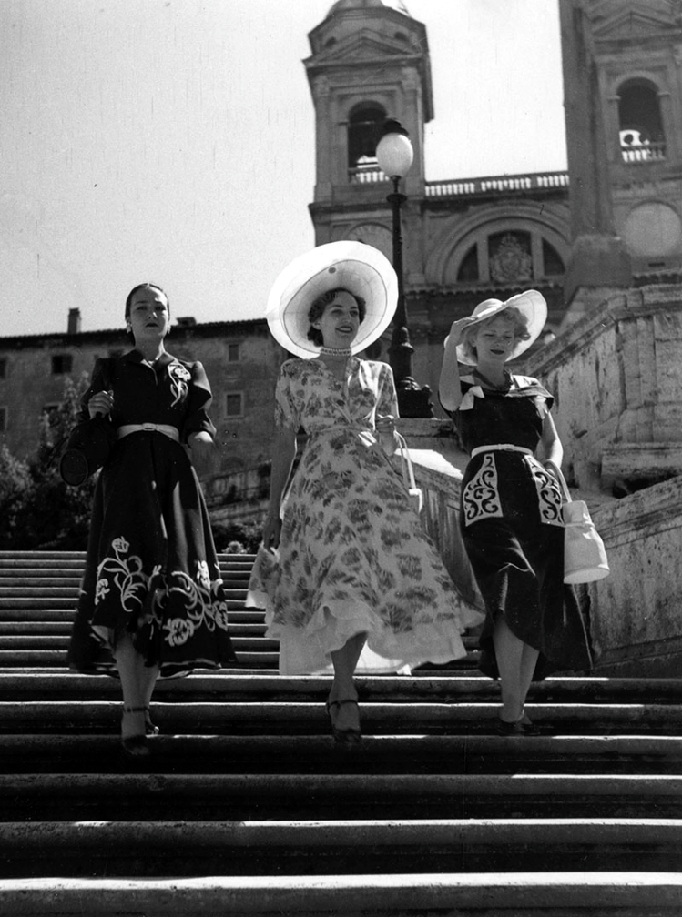 Roma Piazza di Spagna 1950