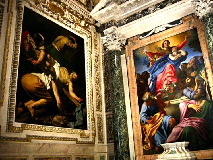 Santa Maria del Popolo | Caravaggio | chiese Roma