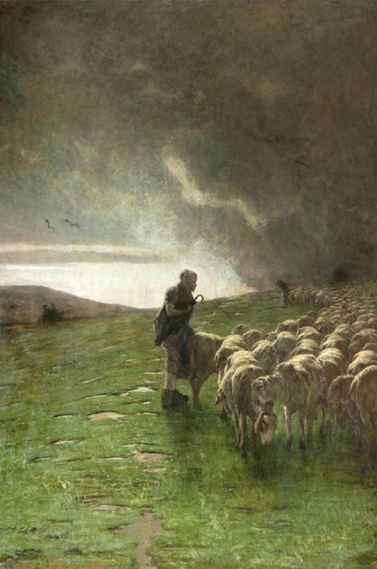 Segantini Dopo il temporale