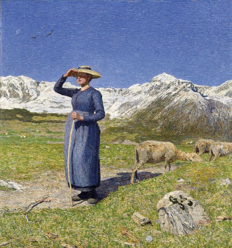 Segantini Mezzogiorno sulle Alpi
