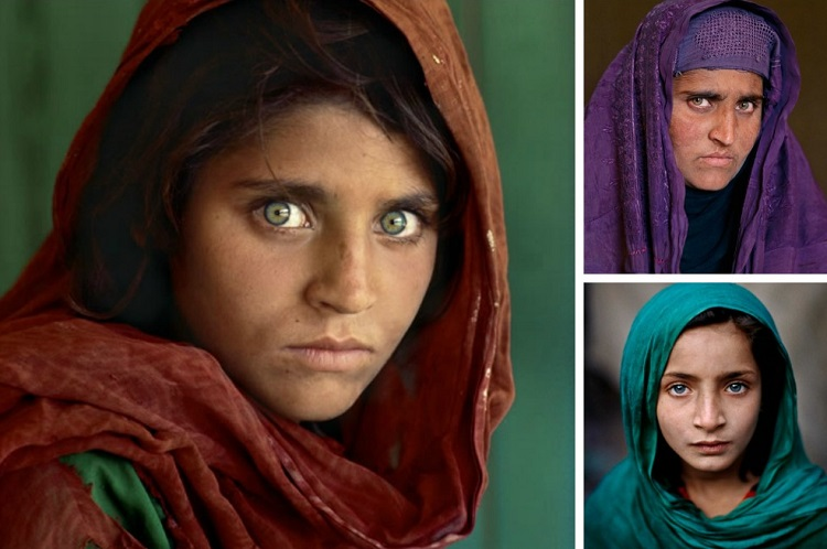 Ragazza sull'uscio, Afghanistan, 2003 (A girl in a doorway, Afghanistan, 2003) ©Steve McCurry