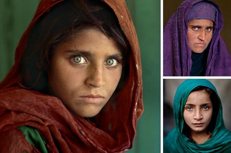 Ragazza sull'uscio, Afghanistan, 2003 (A girl in a doorway, Afghanistan, 2003) ©Steve McCurry