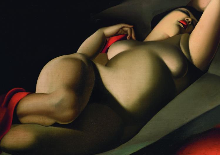 05_La bella Rafaela | Tamara de Lempicka | mostre Verona