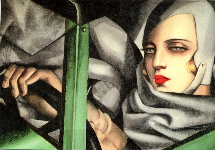 Tamara de Lempicka autoritratto