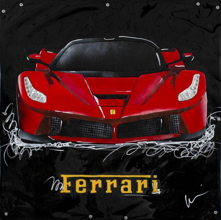 """Marcello Reboani, """"Ferrari"""" (2015). Foto Giorgio Benni"""
