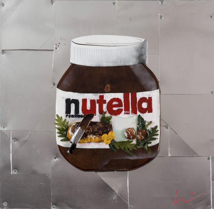"""Marcello Reboani, """"Nutella"""" (2015). Foto Giorgio Benni"""