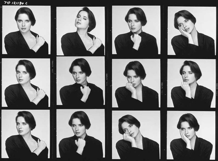 Terry O'Neill Isabella Rossellini