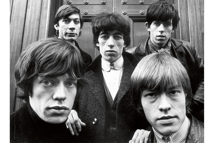 Terry-O'Neill-vogue-Rolling Stones